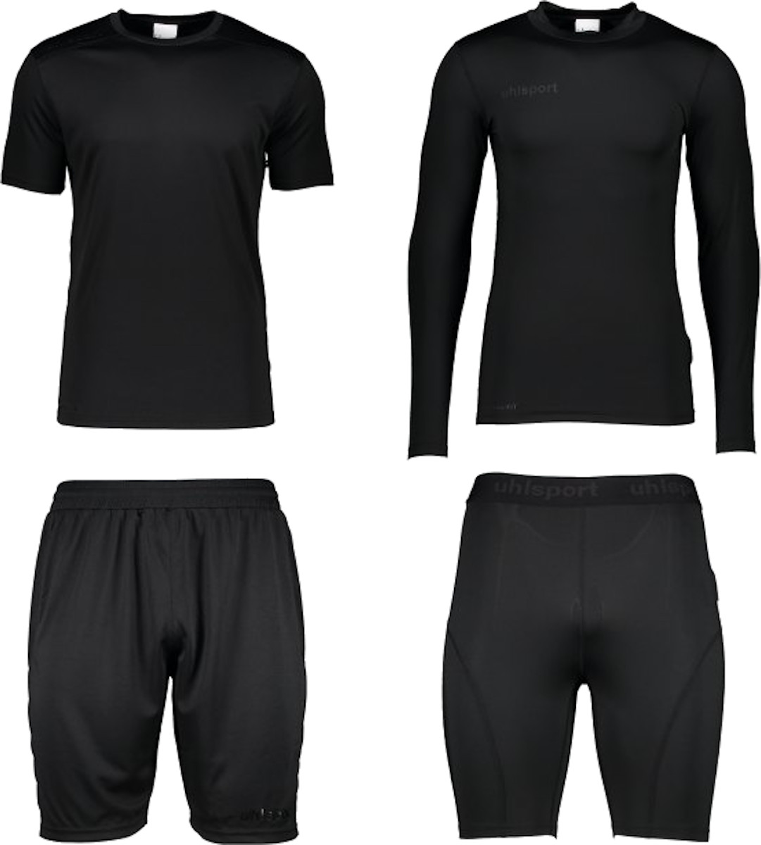 Kit Uhlsport Black Edition GK Set Kids