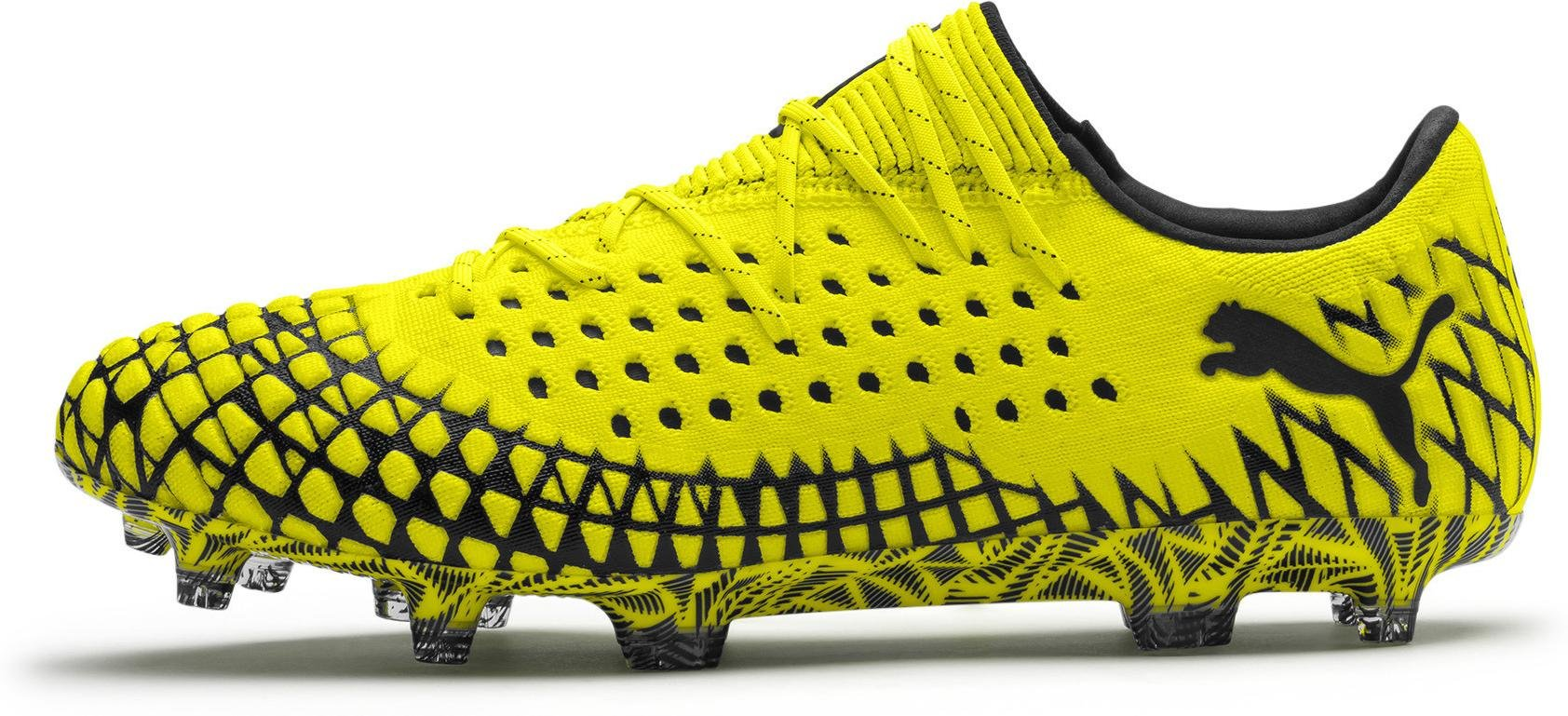 Chaussures de football Puma FUTURE 4.1 NETFIT Low FG/AG